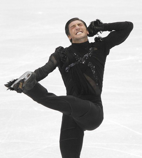 Evan Lysacek is hot.