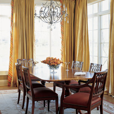 Rugs in a dining room: Yes or No?
