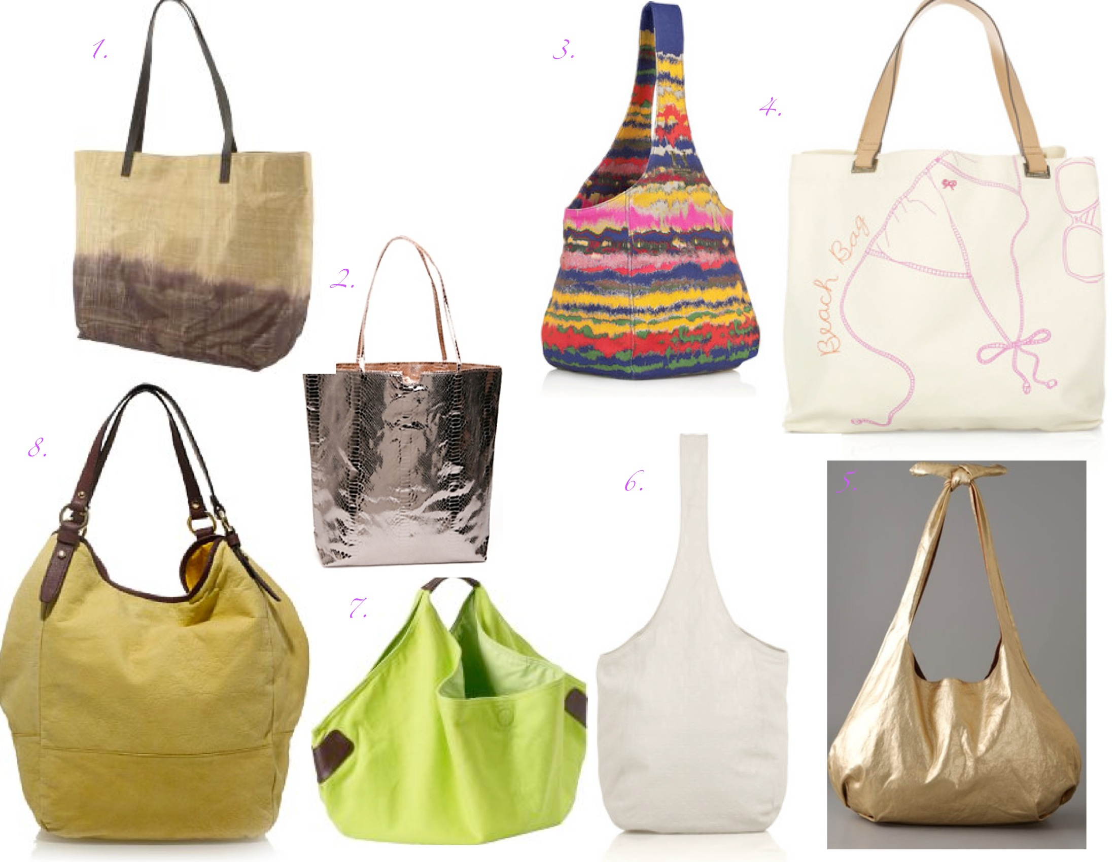 SKETCH42 : The Best Beach Bags