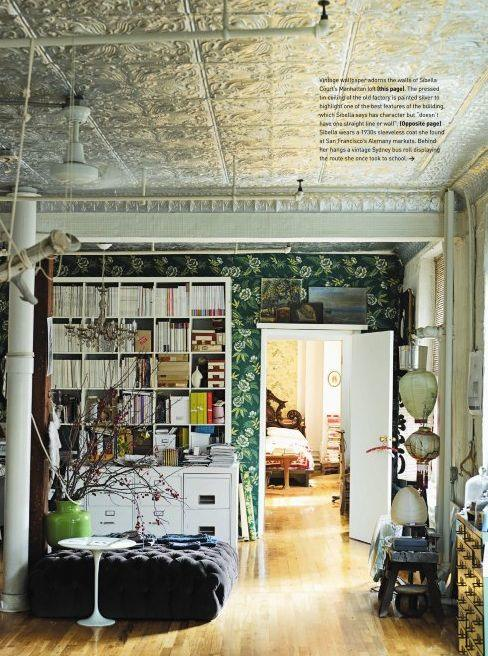 Tin Ceilings Are Awesome Nicole Cohen