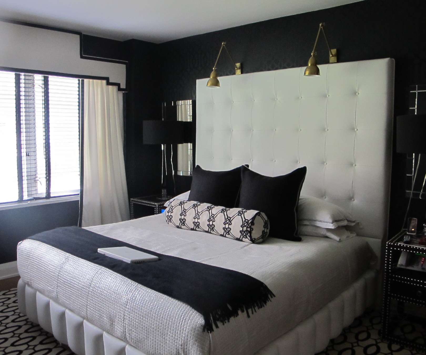 the bedroom reveal nicole cohen. Black Bedroom Furniture Sets. Home Design Ideas