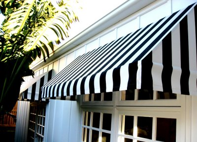Suburban Bliss Striped Awnings Nicole Cohen