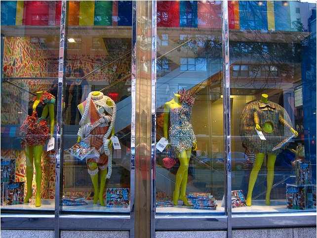 Dylan's Candy Bar's Fashion Week Window…