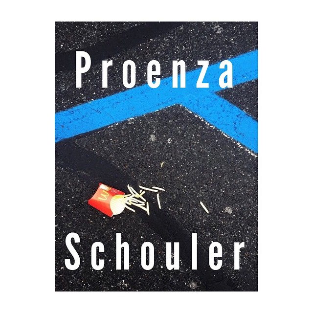 Last one! #fantasyadfriday #ProenzaSchouler