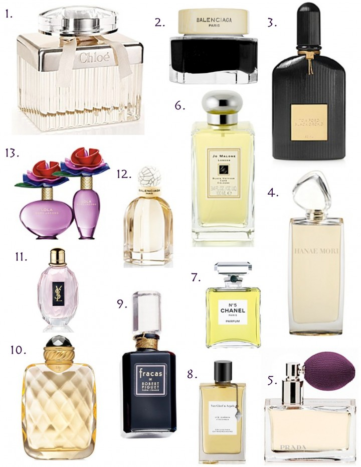 Gift this: The prettiest perfume bottles.