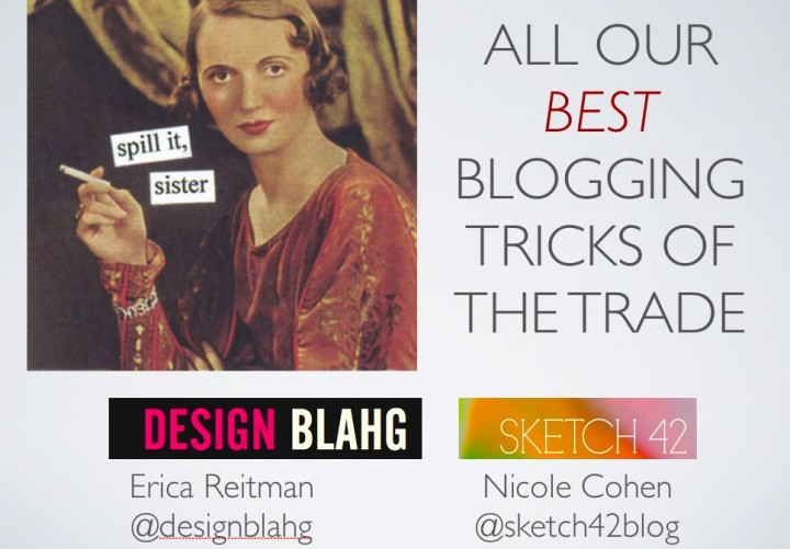 LAVISH: Our blogging tricks and tips!