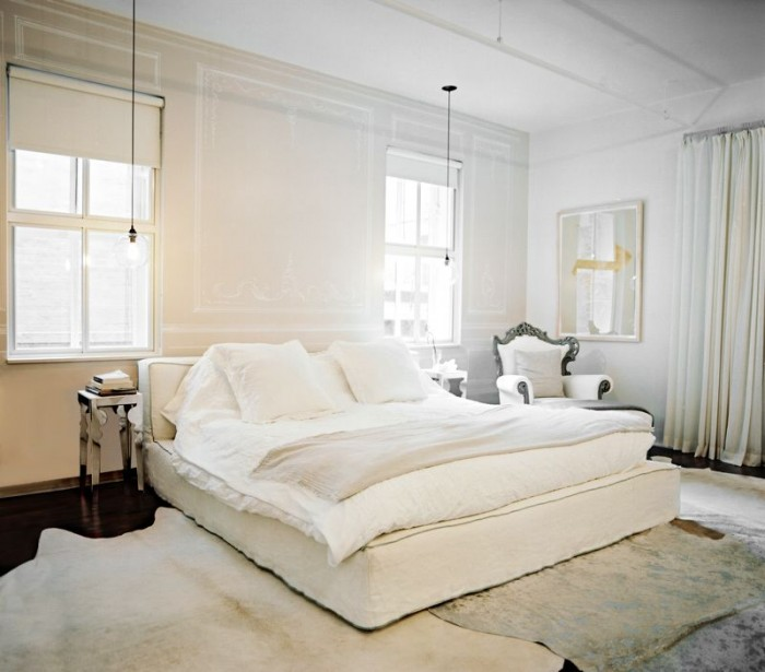 Sketch42 All White Bedrooms