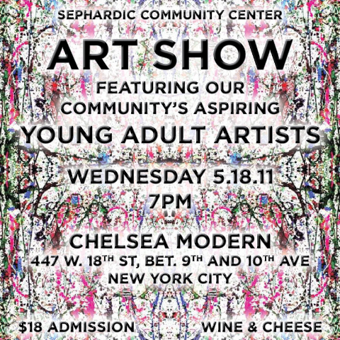 You're invited – Art Show tonight.