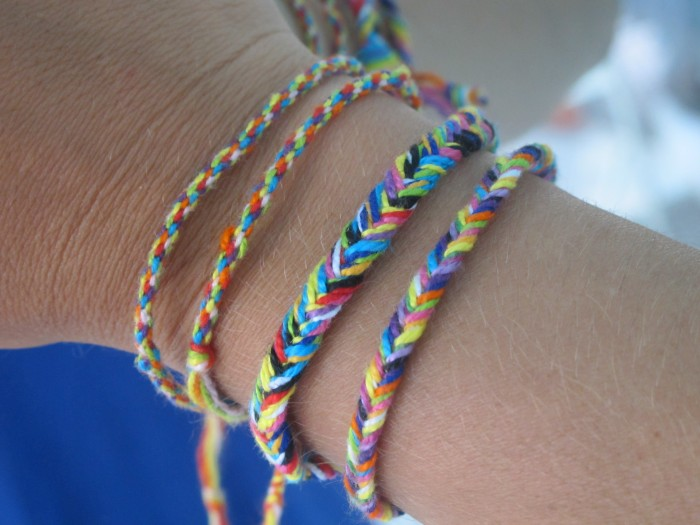 the gallery for gt how to make friendship bracelets with