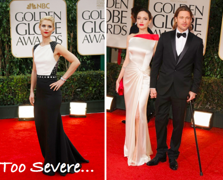 Best and Worst Dressed: Golden Globes 2012.