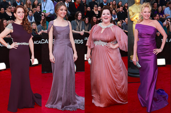 Best and Worst Dressed at the 2012 Oscars.