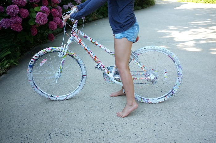 The Day We Painted Bikes. : NICOLE COHEN