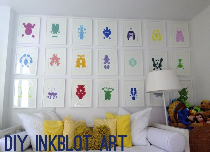 DIY INKBLOT ART