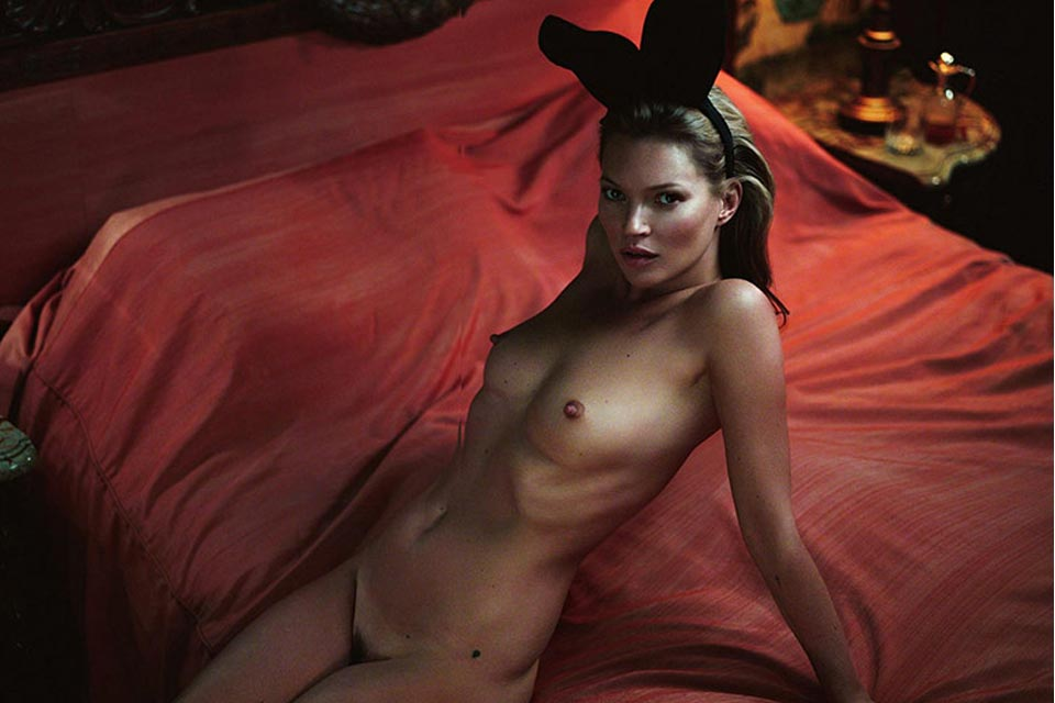 Sketch42 — Kate Moss | PLAYBOY.